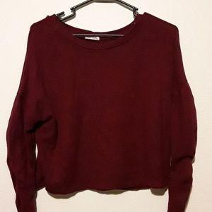 Crop top Sweater top